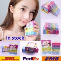 Wholesale Hot Handmade Soap OMO White Plus Soap Mix Color Plus Five Bleached White Skin Gluta Rainbow Soap DHL WX H01