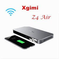 airs education - Home Theater and Business XGIMI Z4 air Andriod4 Beamer Projector No Screen TV Super D DLP HD Supported Projector with glasses