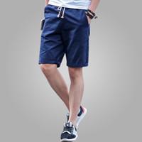 Wholesale Newest Summer Casual Shorts Men cotton Fashion Style Mens Shorts bermuda beach Black Shorts Plus Size M XL short For Male