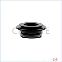 adapter tip size - Black color mm drip tip adapter for non threaded tank ecig accessories common size of all goon tips high quality