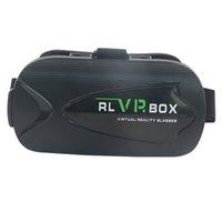 achat en gros de verres film de jeu-3D VR Box Réalité virtuelle Lunettes de vue Google Cardboard VR 3D Lunettes de vue pour Smartphone Voir 3D Movie Playing Games