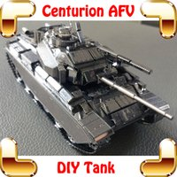 big scale tanks - New Arrival Gift Centurion AFV D Metal Model Military DIY Collection Building KIts Scale Assemble Toys Steel Decoration Present