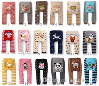 Wholesale 36 Styles Popular Baby Pants Baby Girls Boys Leggings Busha PP Pants Wear Children s Leggings Tights