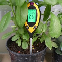 agriculture instruments - In LCD Display PH Meter Plant Flowers Soil Survey Instrument Temperature Moisture Sunlight Agriculture Gauge Meter