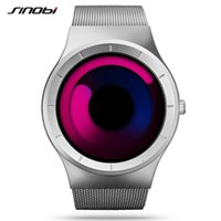 Wholesale SINOBI Watches Fashion Men s Sport Quartz Watch Mens Stainless Steel Strap Men Watches Unique Design Waterproof relogio