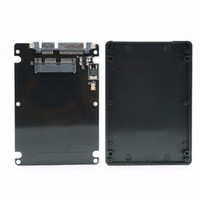 Wholesale 1 quot Micro SATA pin SSD to quot SATA Pin Hard Disk Case Enclosure