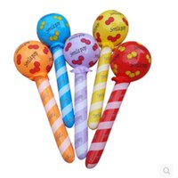 Wholesale new arrived Inflatable Stick Children Inflatable Lollipop toys Not wounding Inflatable Stick children toys