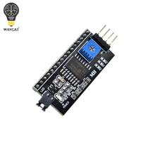 al por mayor interfaz iic-IIC / I2C / Interface LCD1602 2004 Placa de Adaptador LCD para Arduino WAVGAT