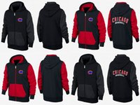 Wholesale Cheap New Men s Chicago Cubs Fleece Majestic Big Tall Black First Play Full Zip Baseball Hoodie