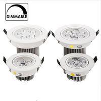 Wholesale 3W W W W downlight Epistar LED ceiling lamp Recessed Light Aluminum V V for home illumination