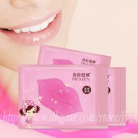anti ageing face mask - PILATEN BRAND Skin Face Care Crystal Collagen Lip Mask lip care pads Moisture Essence Anti ageing wrinkle gel ml