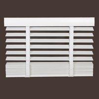 basswood blinds - Pure real wood shutter shade toilet waterproof bedroom window basswood Venetian blinds cm wide and cm long