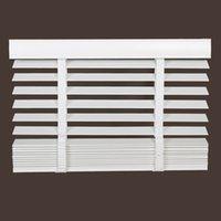 Wholesale Pure real wood shutter shade toilet waterproof bedroom window basswood Venetian blinds cm wide and cm long