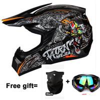 Wholesale gift new motorcycle helmet mens moto helmet top quality capacete motocross off road motocross helmet DOT
