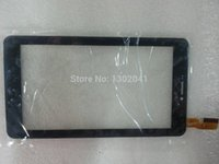 ad panels - Original New touch screen digitizer quot inch Tablet AD C FPC Touch panel Sensor Glass Replacement