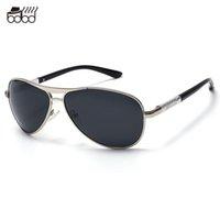 Wholesale-Pilot Polarized Sunglasses Hombre de marca de lujo diseñador UV400 Conducción al aire libre de alta calidad Oculos De Sol Masculino Lunettes Homme