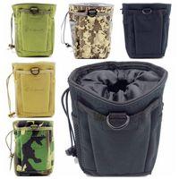 Canvas bag dump - EDC Tactical Pouches Molle Pouches Magazine DUMP Ammo Drop Utility Pouch Bag Outdoor Portable Waist Bag Tool Pouch Travel Pouch