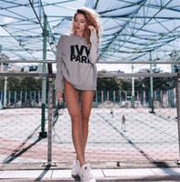 Wholesale New Ivy Park Sweater Soft Femme Liberte Sweater Jumper Top Ivy Park Jumper Beyonce Same Style Letter Print Hoodies Long Sleeve Sweatshirts