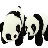 Wholesale Pandas Animal toys Simulation Plush baby kids Toy Large Doll PP Cotton Birthday Christmas Gifts