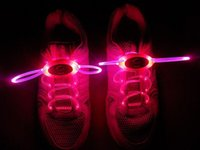 72pcs (36 paires) Chaussures à lacets Chaussures Laces Flash Up Glow Stick Strap Chaussures Disco Party Skating Sports Glow Stick