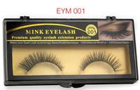 Wholesale 3D mink eyelash Handmade False Eyelashes and Popular Messy Nature Paragraph Eyelashes Beauty Makeup Mink Eyelashes