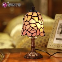 Wholesale difany bedroom bedside night light feeding lamp send friends gifts creative decoration romantic rose Nightlight