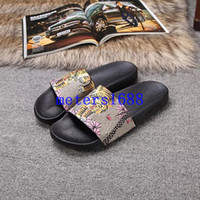 bee slides - new arrival mens fashion causal sandals summer outdoor beach slide sandals with Bengal blooms bee flower print