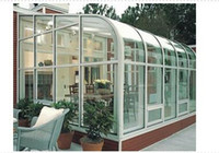 Wholesale 009 Garden Windows Aluminum Alloy house construction material green house