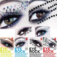 art tattoo gallery - Magic Instant Eyeshadow Stickers Glitter Diamond Cat Eye Tattoo Art Photo Studio Gallery Makeup Supplies Eyelid Tools
