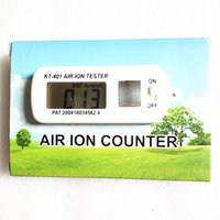 air ion tester - Portable Mini Car Air Ion Tester Meter Counter Clean Room Filter Oxygen Ions Maximum Hold Auto Air Purifier