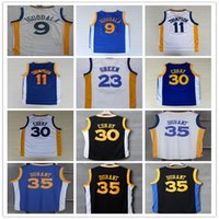 Wholesale 2016 New Kevin Durant Jersey Stephen Curry Klay Thompson Draymond Green9 Iguodala Basketball Jersey