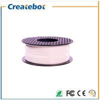 Wholesale 3D Printer material White color ABS filament mm mm Plastic Filament KG LB D Printer Parts Filament