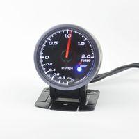 Wholesale mm auto boost gauge and turbo gauge auto gauge warning function Automotive instrument pressure gauge pods