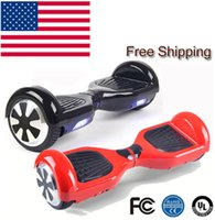 Wholesale In stock Inch Hoverboard Two Wheels Self Balance Scooter Hover Board With LED Light