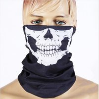 Halloween Mask Skull Scary Mask Party Produits de cosplay Cyclisme Masques masques Outdoor ride