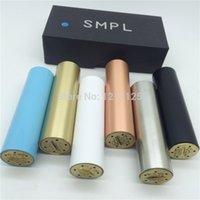 SMPL mod 18650 mech Mod Coffre mécanique Mod noir blanc cuivre laiton vs manhattan fuhattan M6 le petit gros praxis apollo paragon