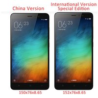 Wholesale Original Xiaomi Redmi Note Pro Prime Special Edition International Version Mobile Phone Snapdragon GB ROM Fingerprint ID
