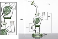 Ongles en verre dabs Prix-Glass Bong Recycler Percolator 14mm Femelle Bubble Bongs Waterpipes Glass Dab Oil Rigs Dabbers Quartz Nails