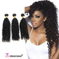 Virgen brasileña rizado rizado cabello humano tejido 3 paquetes indio indonesio peruano rizado cabello rizado extensiones puede ser teñido Total 300 g