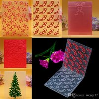 Wholesale Plastic Embossing Folder for Scrapbook DIY Album Card Tool Plastic Template Stencil Types