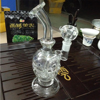 Wholesale New quot Glass bong fab egg Bongs Faberge Egg Water pipe recycler bongs oil rig dabs bong hookah