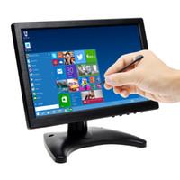 Bnc vidéo vga Prix-10,1 pouces écran tactile IPS écran avec stylet Pen couleur ultra mince HD 1280 * 800 moniteur vidéo avec BNC / AV / HDMI / VGA