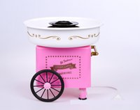 Wholesale Christmas gift Hot Selling Candy Cotton Maker Household Cotton Candy Machine Floss Maker Pink Color Candy Floss Machine