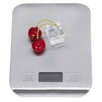 Wholesale LCD Digital Kitchen Scale Kg x g Weight Food Diet Halloween Cooking Tool With Super Slim Stainless Steel Platform Kitchen Scales