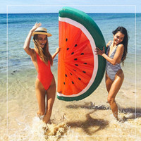 adult pool toys - 180 cm Inflatable Watermelon Half Watermelon Inflatable Pool Float for Adult and Children Swimming Board Air Mattress Water Toys