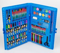 Wholesale Children Painting stationery gift set brush watercolor pen crayon toy creative useful safety gift supplies students
