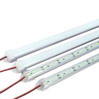 Wholesale SMD LED Bar Light cm DC V Hard Rigid Strip Lamp with LEDs U Aluminium Shell PC Cover