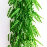 bamboo wicker - simulation bamboo willow false wicker simulation meters Bamboo leaf large decoration