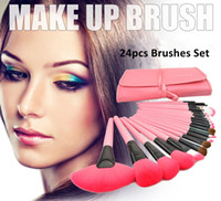 benefit cosmetics makeup bag - Benefit Cosmetics colors Makeup Brushes Set Foundation Coutour Eyeshadow Make Up Brush With Pouch bag