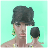 Wholesale 20pcs cap size S M L glueless wig caps good quality Wig cap for making wigs with adjustable strap on the back weaving